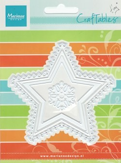 CR1226 craftables stencil star