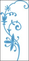 lr0249 creatables stencil tiny`s flowers 2