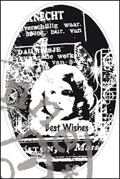 CS0867 Clear stamp best wishes