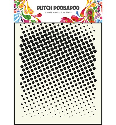 Dutch Mask Art Faded Dots