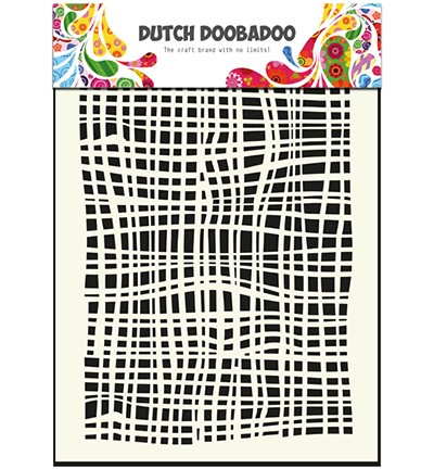 Dutch Mask Art Fabric