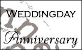 cs0886 Clear stamp weddingday-anniversary UK