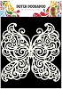 Dutch Doobadoo Dutch Mask Art stencil vlinder A5