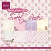 pk9123 Marianne D Paper pad Sweet Roses