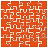 df3422 Marianne D Embossing folder Puzzel