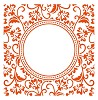 df3425 Marianne D Embossing folder Anja`s circle
