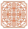 df3426 Marianne D Embossing folder Anja`s square