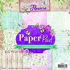 Studio Light Paper pad 36 vel 12 designs Beautiful Flowers nr 33