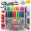 Color Burst Permanent Markers Fine 24/Pkg