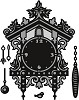 cr1388 Marianne D Craftable Cuckoo clock