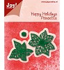 6002/0776 - Happy Holidays - Poinsettia (kerstster)