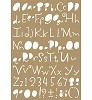 6002/0850 Mask stencil - Lettering