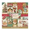 Stamperia Christmas Vintage 12x12 Inch Paper Pack