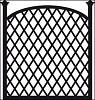 cr1263 Craftables stencil trellis panel