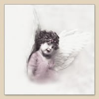 33 x 33 cm Cute Angel Girl
