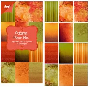 6011-0309 Joy! papierblok 15x30 autumn paper