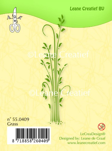 55.0409 Clear stamp Grass