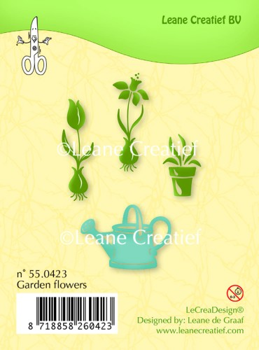 55.0423 Clear stamp Garden flowers