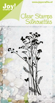 Clear Stamps bloem