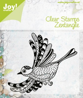 6410/0346 Clear Stamp Zentangle bird