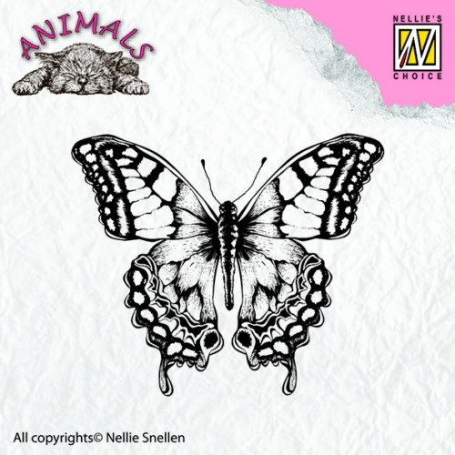 ANI010 Clear stamps animals butterfly