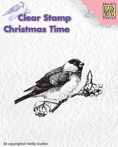 CT011 Clear stamps Christmas Time birds