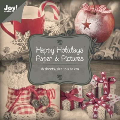 6011-0062 Papierblok - Paper & Pictures Happy Holidays