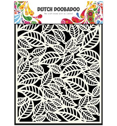 Dutch Doobadoo Dutch Mask Art - Dutch Mask Art A5 Leaves