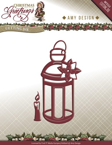 Die - Amy Design - Christmas Greetings - Lantern