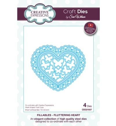 CED21007 The Fillables Collection fluttering heart