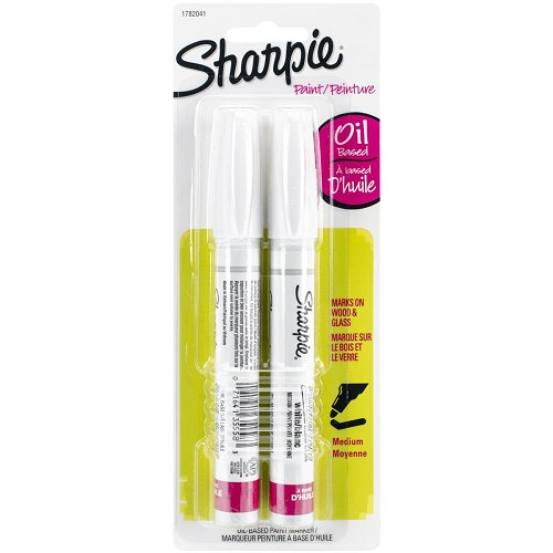 Sharpie Medium Point Oil-Based Opaque Paint Markers 2/Pkg