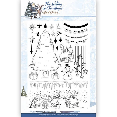 Clear Stamp - Amy Design - The Feeling of Christmas