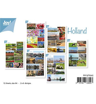 6013/0345 Knipvellen Set Holland