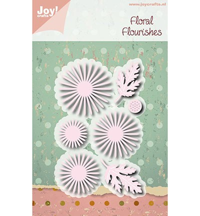6002/0972 Cutting & Embossing Floral Florishes - Chrysant