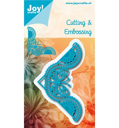 6002/1041 Cutting & Embossing Corner Butterfly