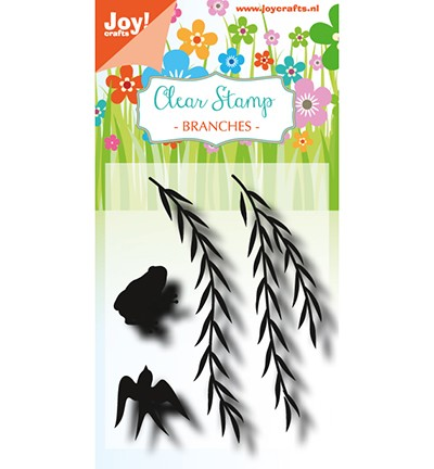 6410/0491 Clearstamp - LH - Branches with butterfly