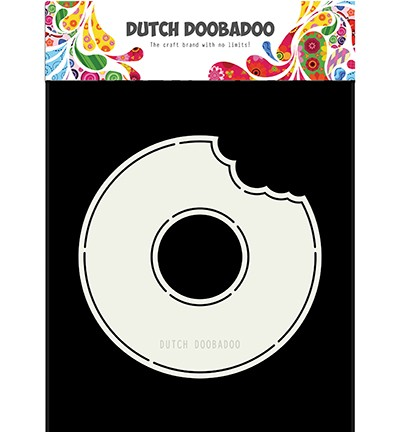 470713693 - Dutch Doobadoo Card art Donut