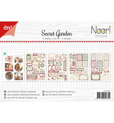 6011/0414 - Labelvellen/knipvel - Noor - Secret Garden