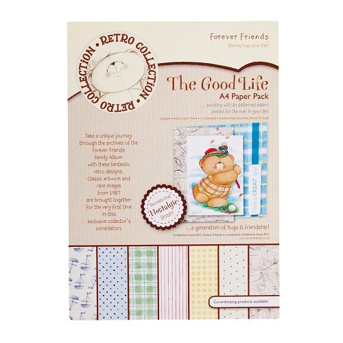 A4 paper pack - the good life