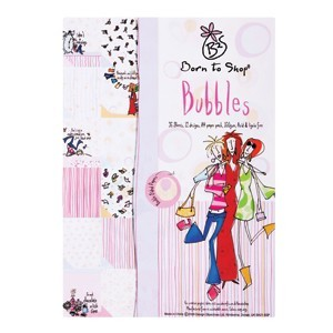 A4 double-sided paper pack - bubbles (born to shop)