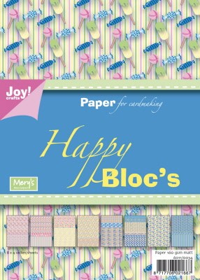 6011/0034 Papierblok Happy bloc - Sweet