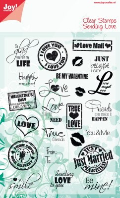 6410/0040 Stempel eng So glad you`re in my LIFE